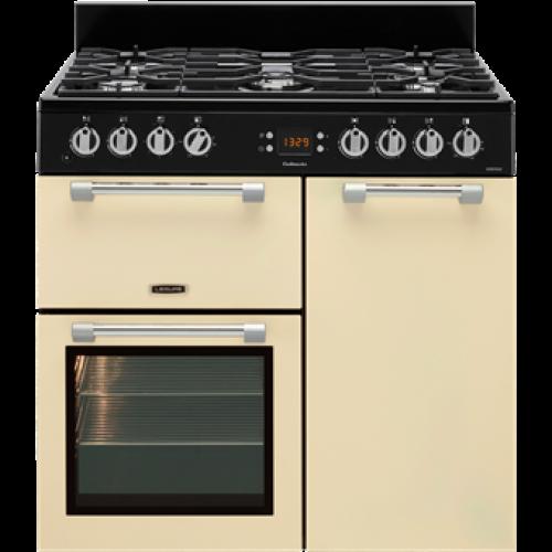 Leisure CK90F232C Cookmaster 90cm Dual Fuel Cooker Cream