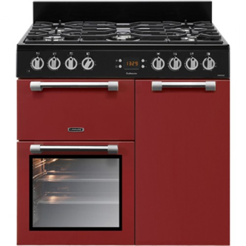 Leisure CK90F232R Cookmaster 90cm Dual Fuel Cooker Red