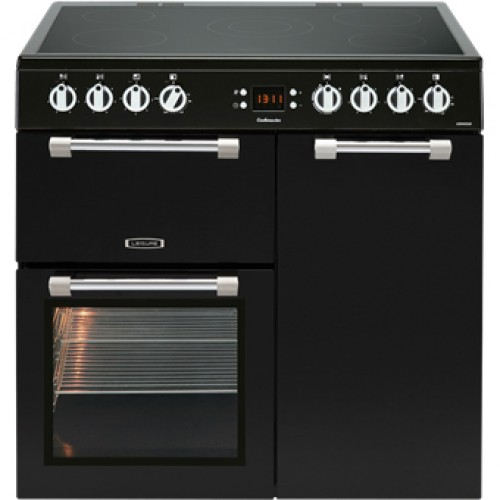 Leisure CK90C230K Cookmaster 90cm Electric Cooker Black