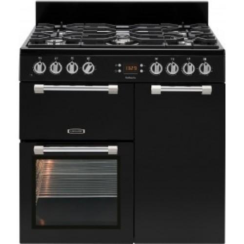 Leisure CK90G232K Black Cookmaster Gas Cooker Black