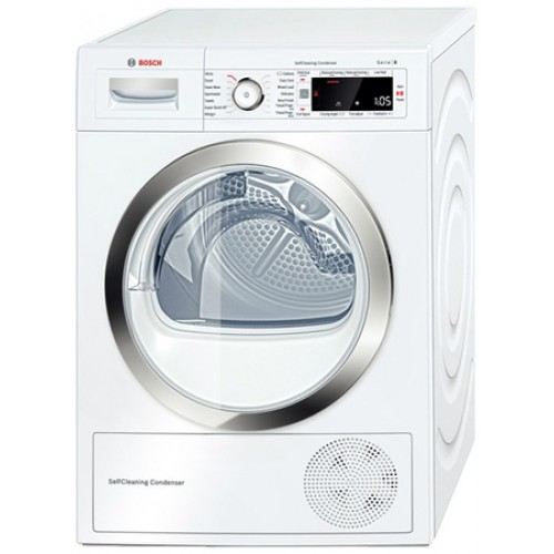 Bosch WTW87560GB Heat Pump Dryer, 9kg Capacity, A++ Energy