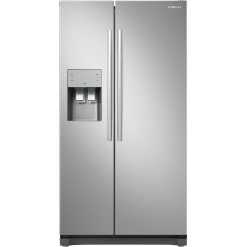 Samsung RS50N3513SL American Style Fridge Freezer, 90cm, Frost Free, A+ Energy