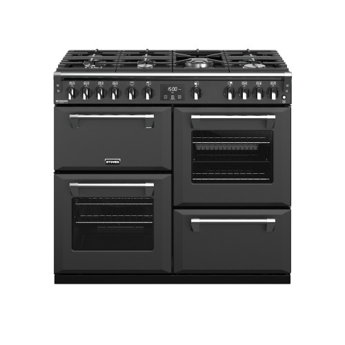 Stoves Richmond Deluxe S1000G, 100cm, Gas, Anthracite Range Cooker