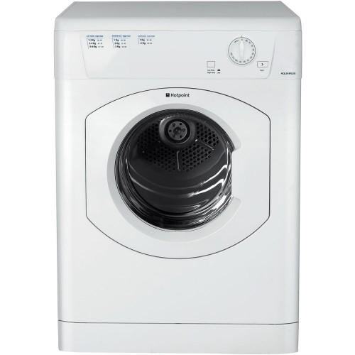 Hotpoint TVHM80CP Vented Tumble Dryer, 8kg capacity, C Energy