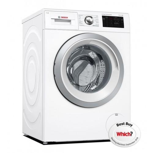 Bosch WAT286H0GB Washing Machine, 9Kg Capacity, 1400 Spin, A+++ (-30%) Energy