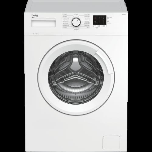 Beko WTK72041W Washing Machine, 7kg, 1200 Spin, A+++ Energy
