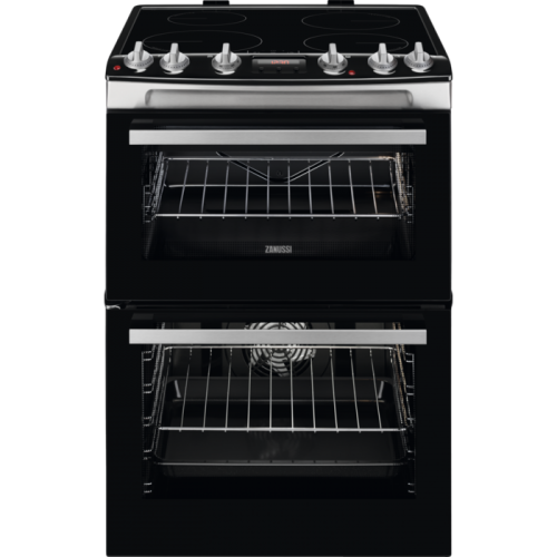 Zanussi ZCI66278XA Induction Double Oven, 60cm, A Energy