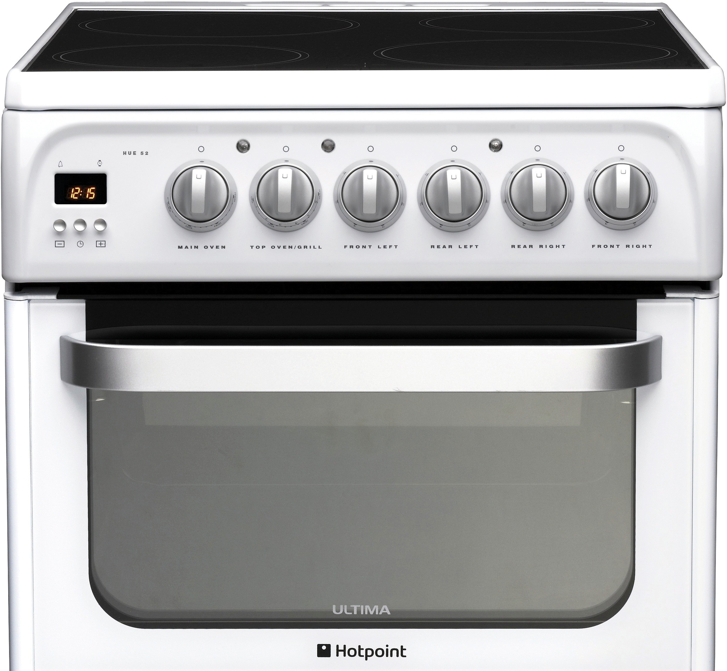Kitchen Doors Uckfield: Hotpoint HUE53PS Electric Double Oven, 50cm, A Energy From
