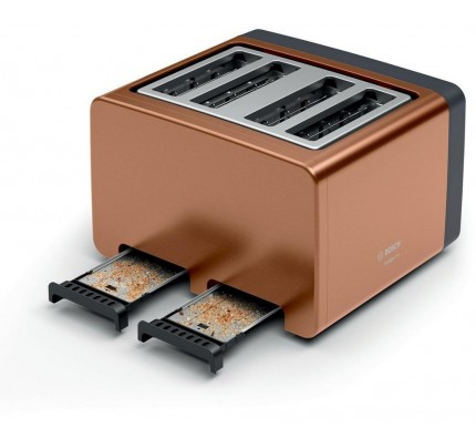 Bosch TAT4P449GB Copper 4 Slice Toaster