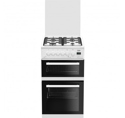 Beko EDG506W Gas Twin Cavity, 50cm, A+ Energy