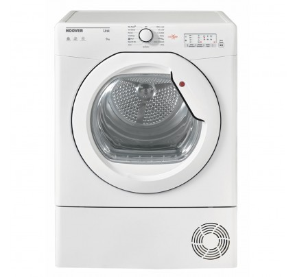 Hoover HLC9LG Condenser Tumble Dryer, 9kg Capacity, B Energy