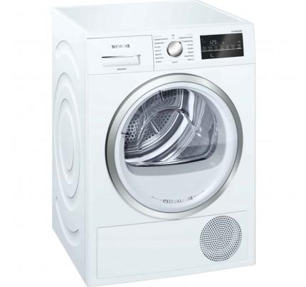 Siemens WT46G491GB Condenser Tumble Dryer, 9kg Capacity, B Energy