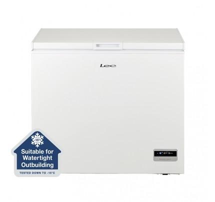 Lec CF200LW MK2 Chest Freezer, 94.5cm, Manual Defrost, A+ Energy