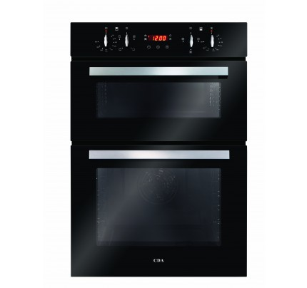 CDA DC940BL Enamel Interior, Double Multifunction Oven, Electric, A Energy
