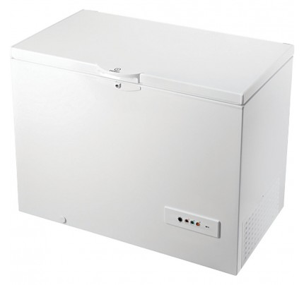 Indesit DCF1A250 Chest Freezer, 101cm, Manual Defrost, A+ Energy