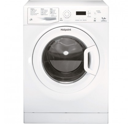 Hotpoint WMAQF721P Washing Machine, 7kg Capacity, 1200 Spin, A+ Energy