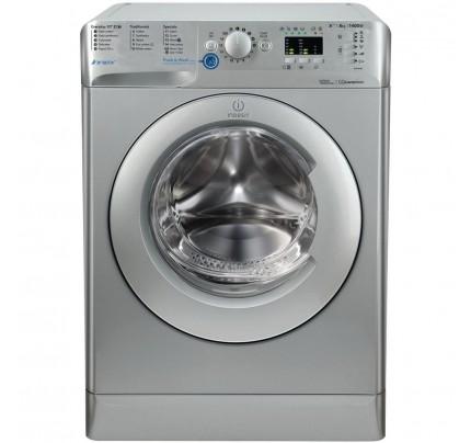 Indesit BWA81483XSUK Washing Machine, 8kg, 1400RPM, A+++ Energy