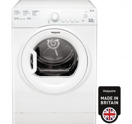 Hotpoint TVFS73BGP9 Vented Tumble Dryer, 7kg Capacity, B Energy