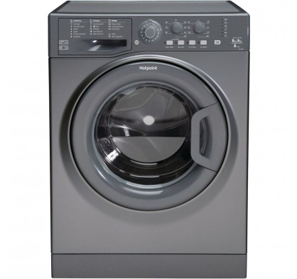 Hotpoint FDL9640G Washer Dryer, 9kg Wash, 6kg Dryer Capacity, 1400 Spin, A Energy