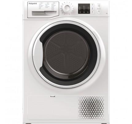 Hotpoint NTM1081WK Heat Pump Tumble Dryer, 8kg Capacity, A+ Energy