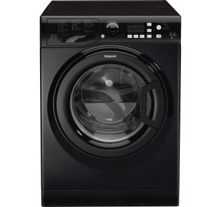 Hotpoint FDL9640K Washer Dryer, 9kg Wash, 6kg Dryer Capacity, 1400 Spin, A Energy