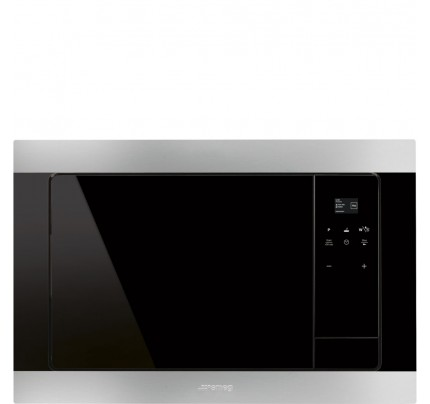 Smeg FMI320X Compact Microwave, 850W, 20L