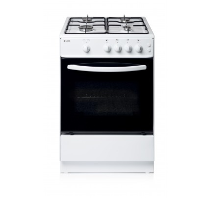 Haden HGS60W Gas Single Oven, 60cm, A+ Energy