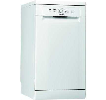 Hotpoint HSFE1B19 Freestanding Slimline Dishwasher, 10 Place Settings, A+ Energy