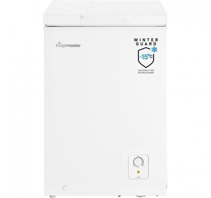 Fridgemaster MCF95 Chest Freezer, 55cm, Manual Defrost, A+ Energy