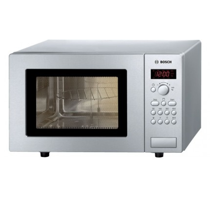 Bosch HMT75G451B Microwave With Grill, 800W, 17L