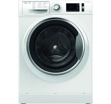 Hotpoint NM11946WCA Washing Machine, 9kg Capacity, 1400 Spin, A+++ (-30%) Energy