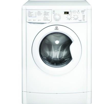 Indesit IWDD7143 Washer Dryer, 7kg Wash, 5kg Dryer, 1400RPM, B Energy