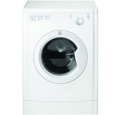 Indesit IDV75 Vented Tumble Dryer, 7kg Capacity, B Energy