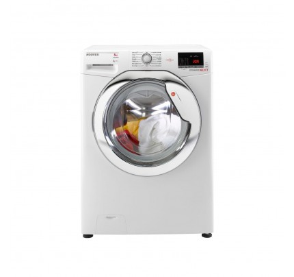 Hoover DXOC58AC3 Washing Machine, 8kg Capacity, 1500 Spin, A+++ Energy