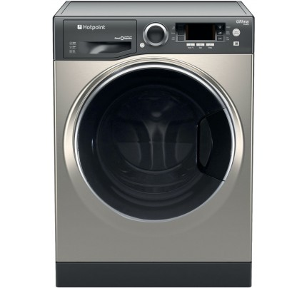 Hotpoint RD966JGD Washer Dryer, 9kg Wash, 6kg Drying, 1600 Spin, A Energy