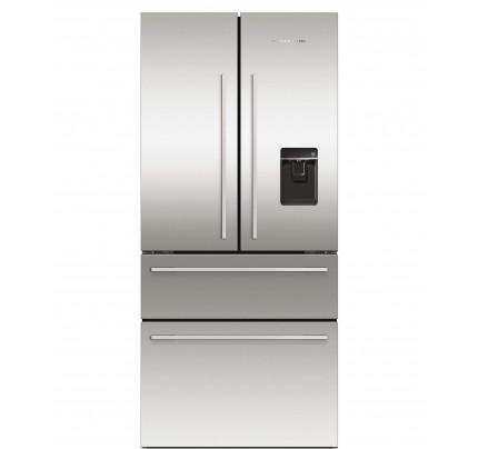 Fisher & Paykel RF523GDUX1 American Style Fridge Freezer, 80cm, Frost Free, A+ Energy Rating