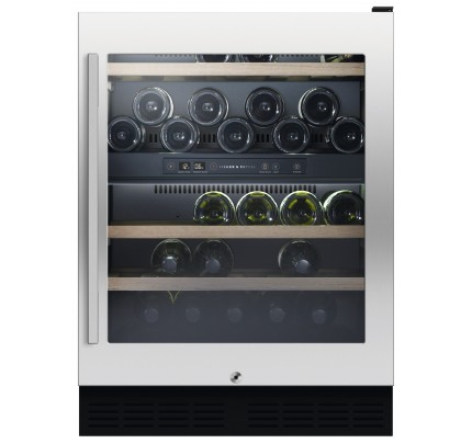 Fisher & Paykel RS60RDWX1 Built In Wine Cabinet, 60cm, B Energy