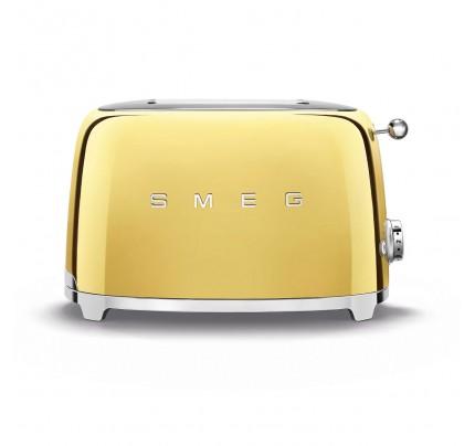 Smeg TSF01GOUK Gold 2 Slice Toaster