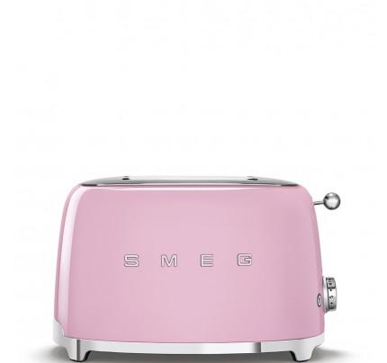 Smeg TSF01PKUK Pink 2 Slice Toaster