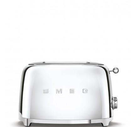 Smeg TSF01SSUK Chrome 2 Slice Toaster