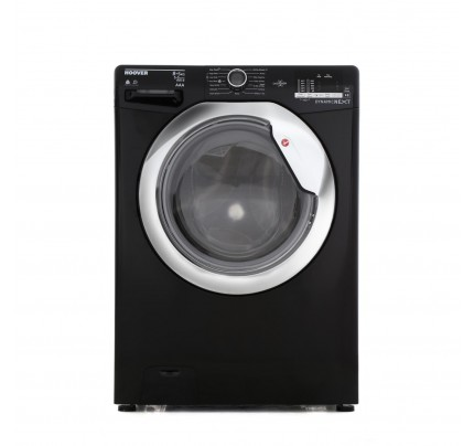 Hoover WDXOC585CB Washer Dryer, 8kg Wash, 5kg Dryer Capacity, 1500 Spin, A Energy