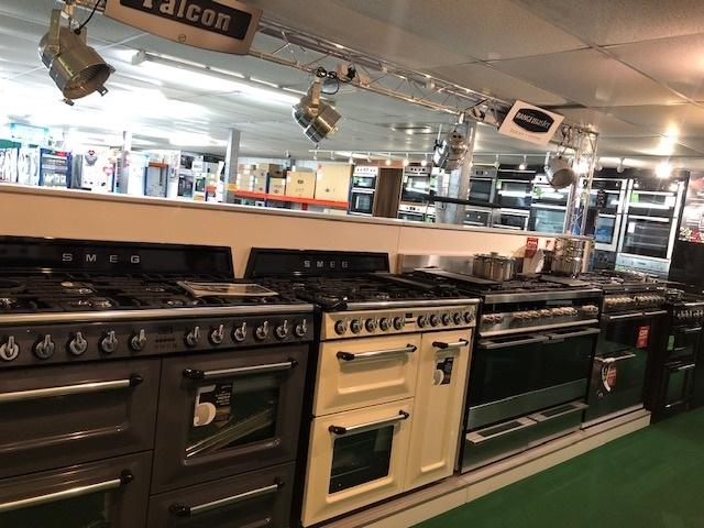 kensington appliances interior range display
